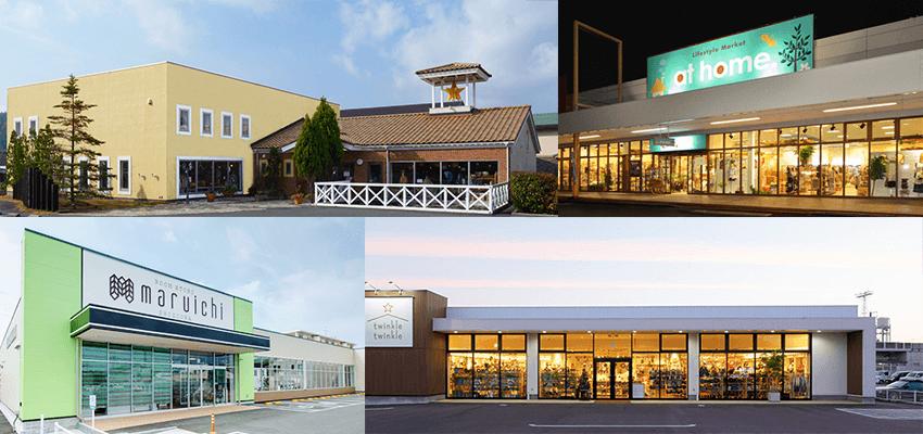 POINT 01 全国の地域一番店<br /> 地方の郊外大型路面店への展開