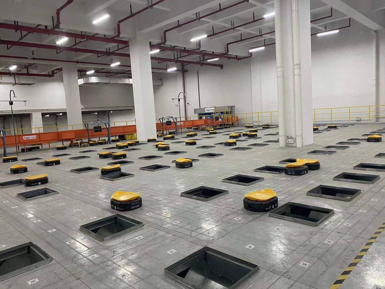 ロボット化された最新鋭の倉庫